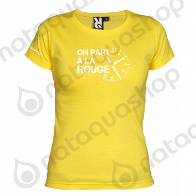 ON PART A LA ROUGE - FEMME PACK Jaune