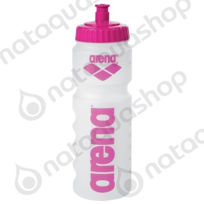 NEW ARENA WATER BOTTLE Clear/pink