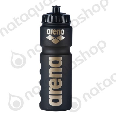 NEW ARENA WATER BOTTLE Black/ Gold
