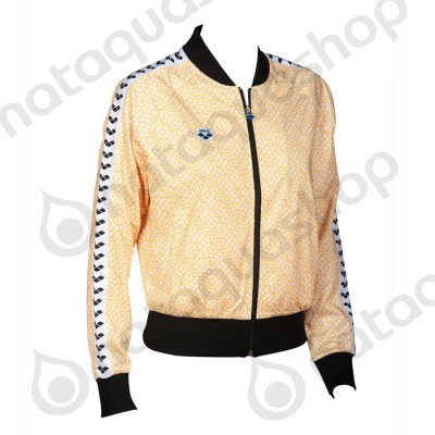 W RELAX IV TEAM JACKET - FEMME DIAMONDS-WHITE-YELLOW-BLACK