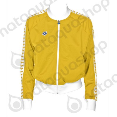 W RELAX IV TEAM JACKET - FEMME LILY YELLOW-WHITE-LILY YELLOW